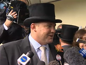 Peter Moody - Diamond Jubilee Stakes Win
