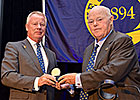 Phipps Presented With Jockey Club Medal