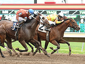Polar Plunge wins the 2015 Lady Slipper Stakes.