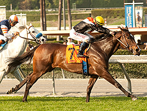 Pontchatrain wins the Buena Vista Stakes.