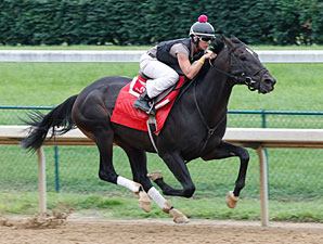 Pool Play works towards the Stephen Foster Handicap.