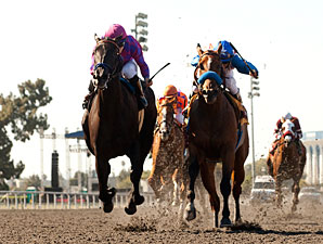 Potesta wins the 2012 Hollywood Oaks.