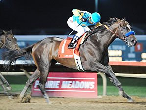 Baffert's 'Prayer' Answers in Iowa Derby
