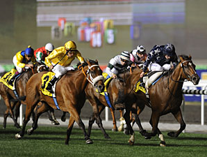 Presvis wins the 2011 Dubai Duty Free.