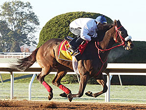 Private Zone works at Keeneland Oct. 18.