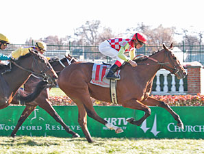 Professor Z Leads Smarty Jones Field