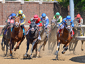 Protonico wins 2015 Alysheba.