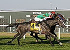 Pure Sensation Wins Turf Monster Thriller