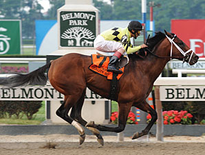 Quality Road wins the 2010 Met Mile.