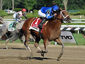 Questing Finds Grade I Win in CCA Oaks