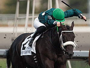 R U Watchingbud wins the 2015 Queenston Stakes.