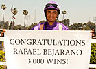 Bejarano Rolls to 3,000th North American Win