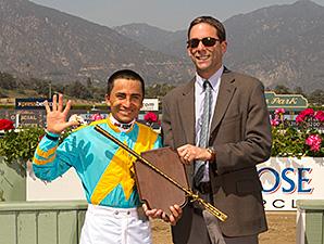 Bejarano Takes Santa Anita Jockey Title