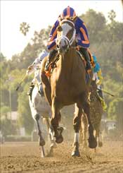 Rags to Riches Flashy Winner of Santa Anita Oaks