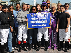 Jockey Rajiv Maragh Claims 1,000th Victory