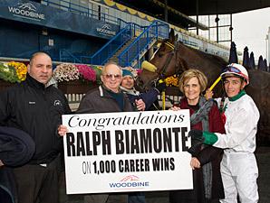 Ralph Biamonte Notches 1,000th Win