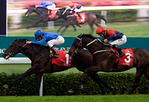 Ramonti Leads Way in Hong Kong