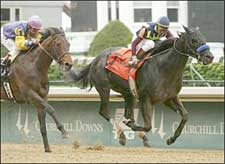Record Plays Baffert's Tune in Derby Trial