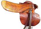 Red Pollard Seabiscuit Saddle to be Auctioned