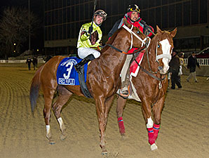 Red Rifle wins the 2014 Hawthorne Gold Cup.