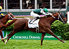 Regally Ready Rallies for Turf Sprint Win