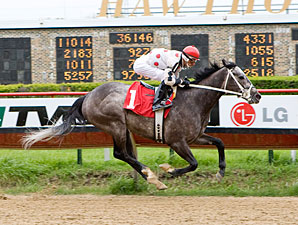 Report Card wins the 2012 Land of Lincoln Stakes.