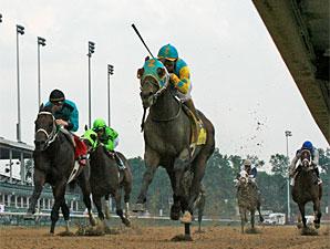 Riley Tucker wins the 2010 Aristides.