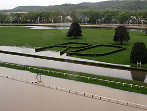 Waterlogged River Downs Sets Opening Day