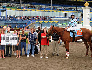 Canadian Jockey Landry Records 2,000th Win