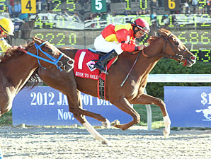 Rose to Gold Rules Dirt in Delta Princess
