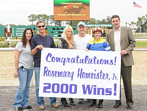 Homeister Notches Career Win No. 2,000