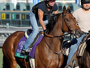 Rumor at Santa Anita 10/29/2012.