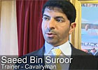 Melbourne Cup - Trainer Saeed Bin Suroor