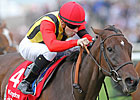 Sahpresa Gets Hat Trick in Sun Chariot Stakes