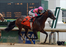 Saint Anddan Heavenly in Churchill Downs Stakes