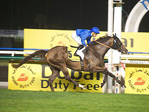 Sajjhaa Kicks Clear to Win Dubai Duty Free