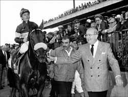 Sam Rubin, Raced Champion John Henry, Dead