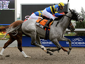 Sand Cove wins the 2008 Ontario Derby.