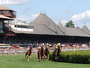 Saratoga Purses Up for First Condition Book