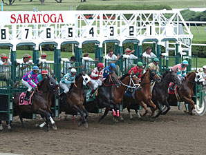 Saratoga Juvenile Maiden Fields to be Reduced