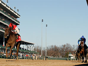 Sassy Image wins the 2009 Golden Rod.
