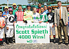 Jockey Scott Spieth Logs 4,000th Career Win