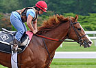 Shack on Track to Set Belmont Pace