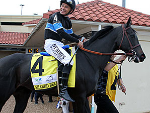 Shared Belief at the Charles Town Classic.
