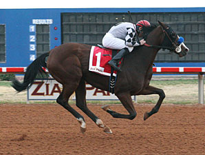 Shesatopattraction wins the 2012 Truth Or Consequences Overnight Stakes.