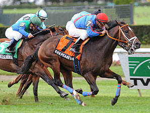Belmont Moves Juvenile Turf Stakes to Monday