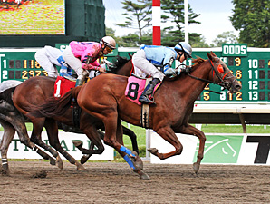Sierra Ancha wins the 2013 Charles Hesse III Handicap.