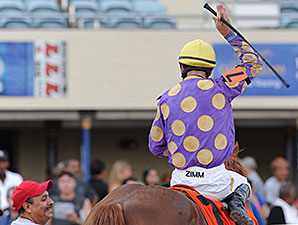 Sing Praises wins the 2014 Florida Sire In Reality Stakes.