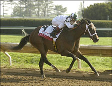 Sis City Returns to Action in Delaware Oaks
