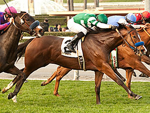 Sky High Gal Tops Sadler Trio in Las Cienegas